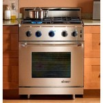 Dacor Epicure 30 In. Stainless Steel Freestanding Range - ER30GISCHLPH