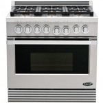 DCS RDU-366-N Range 36, 6 Burner, Natural Gas