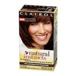 Clairol Natural Instincts, 028B, Roasted Chestnut, Dark Warm Brown