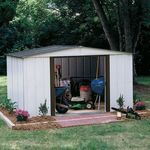 Arrow Buildings SR68109 Gable Steel Lawn Building (10 ft. x 9 ft.)