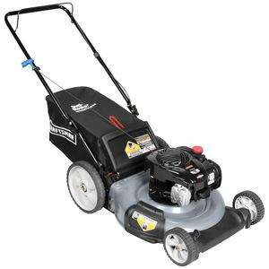 "Craftsman 140cc* Briggs & Stratton, 21"" Rear Bag Push Mower"