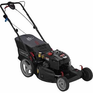 """Craftsman 190cc* Briggs & Stratton Platinum Engine, 22"""" Front Drive Self-Propelled EZ Lawn Mower"""