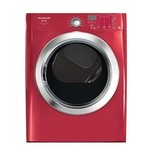 Affinity 7.0 Cu. Ft. Electric Dryer with Ready Steam in Red