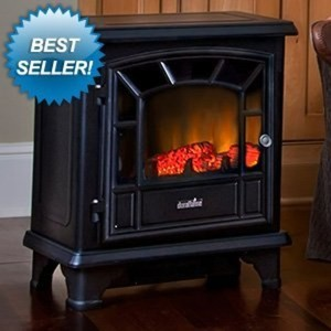 Duraflame Freestanding Electric Stove with Remote Control DFS-550-7