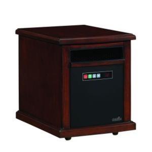Colby 1500-Watt Infrared Quartz Electric Portable Heater - Carmel Oak Finish-DISCONTINUED