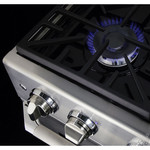 "Dacor DR30GIFSNG 30"" Pro-Style Gas Range"