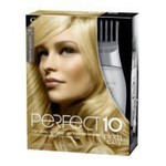 Clairol Perfect 10 by Nice 'n Easy Hair Color, 010, Lightest Blonde