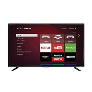 TCL 50FS3800 50-Inch 1080p Roku Smart LED TV (2015 Model)