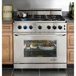 Dacor Epicure 36 In. Stainless Steel Freestanding Gas Range - ER36GSCHNG