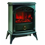 "Comfort Zone® Electric ""Stove Style"" Fireplace Heater CZFP4"