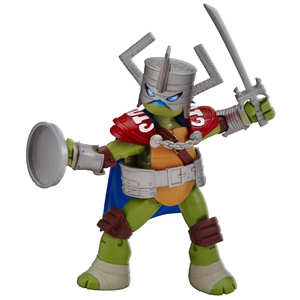 "Teenage Mutant Ninja Turtles Leo the Knight ""Live Action Role Play"""
