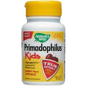 Nature's Way Primadophilus Kids Cherry Flavor Chewable Vitamins