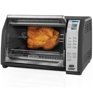 Black & Decker 6-Slice Convection Toaster Oven with Rotisserie