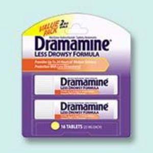 Dramamine Less Drowsy Formula