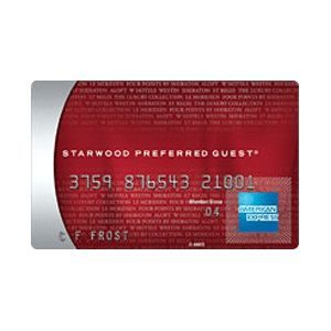 American Express - Starwood Preferred Guest Credit Card