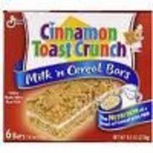 General Mills Milk'n Cereal Bars - Assorted Flavors