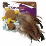 SmartyKat FeatherBalls cat toy