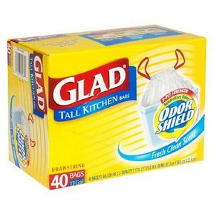 Glad Odor Shield Tall Kitchen Trash Bags