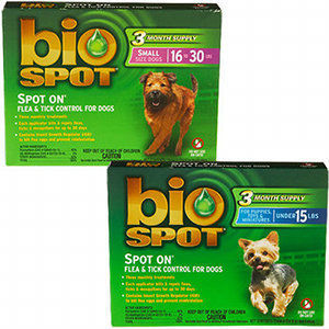 Bio Spot On Flea And Tick Control For Dogs