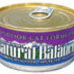 Natural Balance Indoor Cat Formula Canned Food