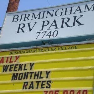 Birmingham RV Park, Van Nuys, CA