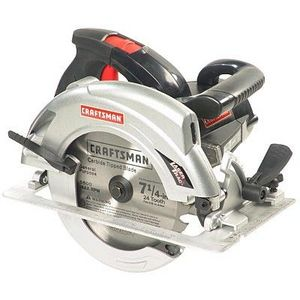 """Craftsman 10870  7 1/4"""" Circular Saw with LaserTrac and LED Worklight"""