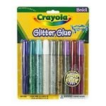 Crayola Washable Glitter Glue - 9 ct.