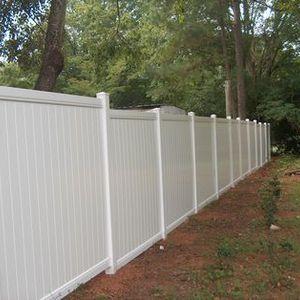Freedom Vinyl Fencing Princeton Panels