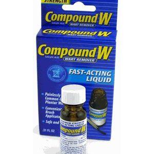 Compound W Liquid & Gel Wart Remover
