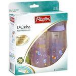 Playtex Drop-Ins Premium BPA-Free Nurser Plastic Baby Bottles