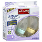 Playtex VentAire Advanced Standard Plastic Baby Bottles