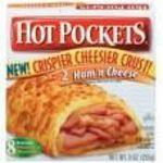 Hot Pockets ham and cheese
