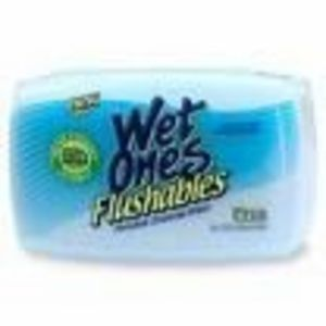 Wet Ones Flushable Cleansing Wipes