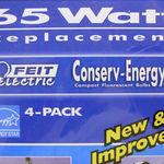 Feit Electric BPCE15R30T/4 Compact fluorescent bulbs