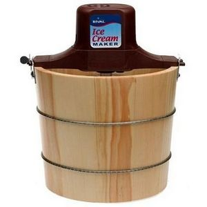 Rival Quart Wood Bucket Ice Cream Maker