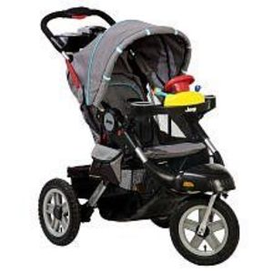 Jeep Liberty Limited Urban Terrain 3-Wheel Stroller