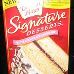 Duncan Hines Signature Desserts