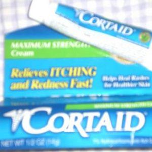 Cortaid Maximum Strength 1% Hydrocortisone Cream
