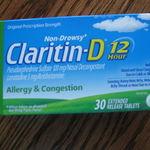 Claritin D-12 Allergy