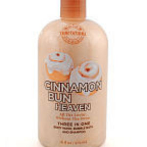 Bath & Body Works Temptations Cinnamon Bun Heaven 3-in-1 Body Wash, Bubble Bath, & Shampoo
