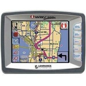 Lowrance iWAY 500C Portable GPS Navigator