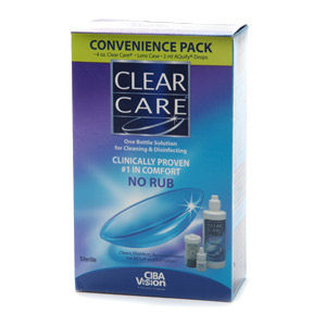 CIBA Vision Clear Care Contact Solution