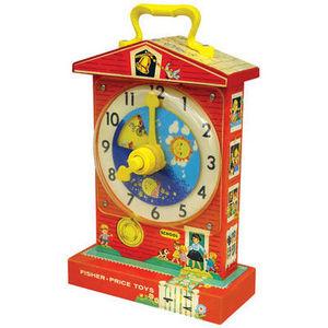 Fisher-Price Musical Teaching Clock