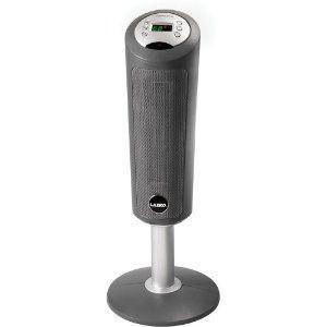 Lasko Portable Digital Space-Saving Ceramic Pedestal Heater