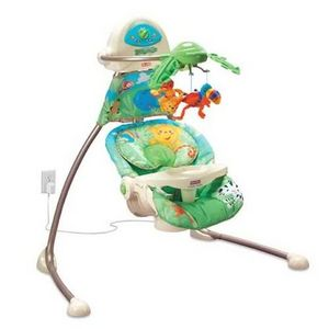 Fisher-Price Rain Forest Cradle 'n Swing