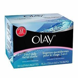 Olay 2-in-1 Daily Facial Cloths
