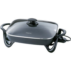 Presto 16-Inch Electric Skillet with Glass Cover 0