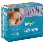 Pampers Calming Lavender Baby Wipes