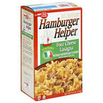 Betty Crocker Hamburger Helper Four Cheese Lasagna