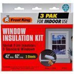 Frost King Window Shrink Film Insulation